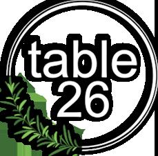 table 26 logo round
