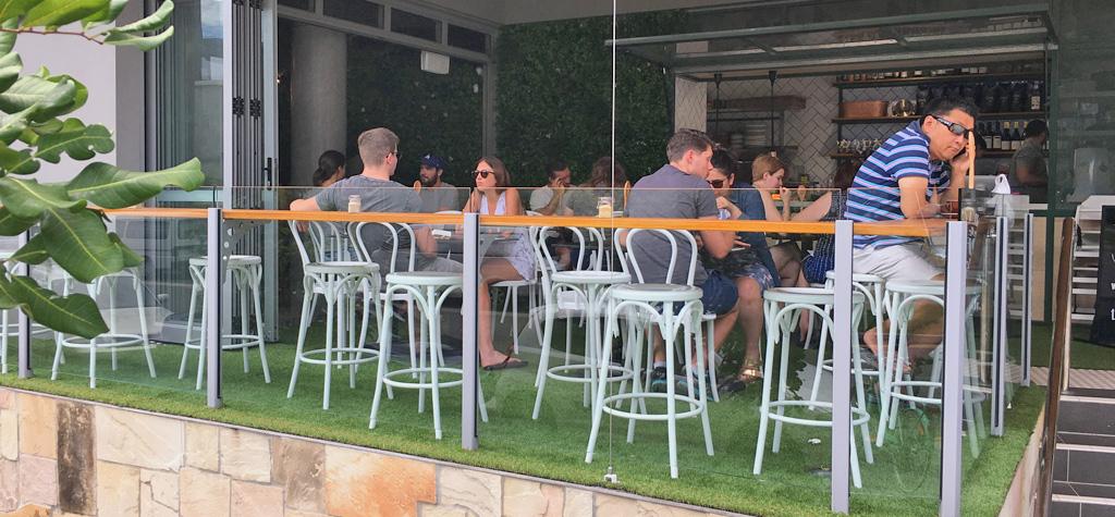 Outside table 26